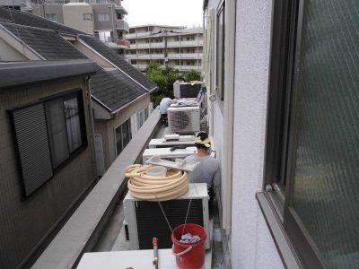 ②室外配管(2F)