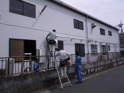 ⑧電源配線3・分電盤設置工事