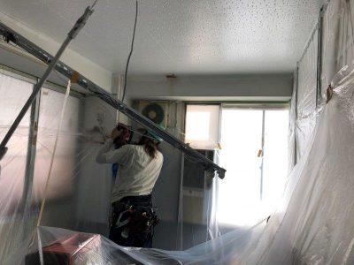 ①壁面貫通工事