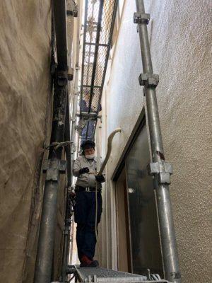 ⑤室外配管工事2