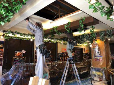 ⑤天井補修工事