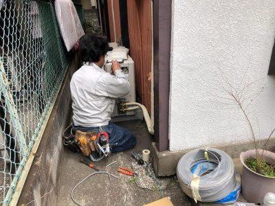 ⑧電気配線結線工事